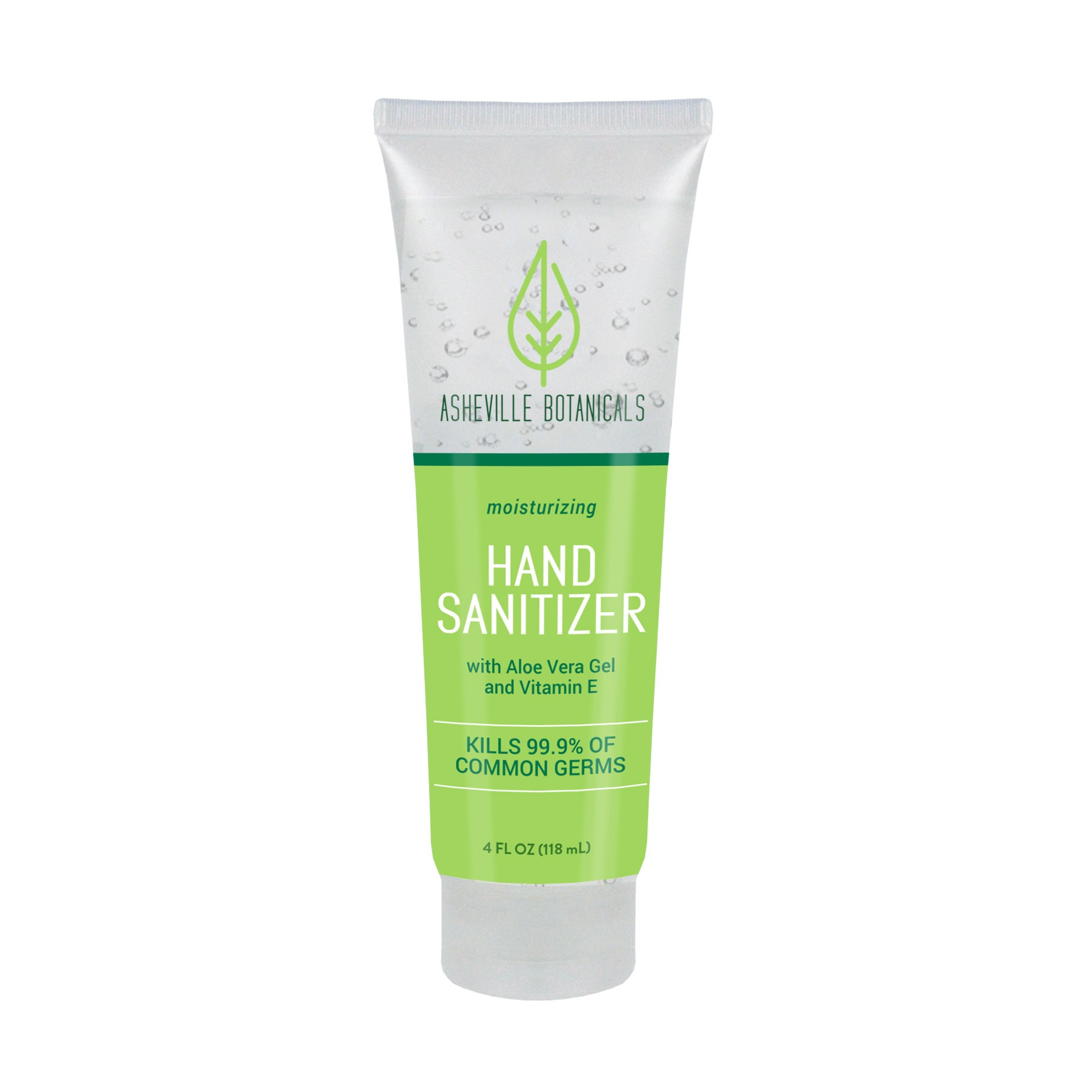Asheville Botanicals Hand Sanitizer, 4 oz Tube