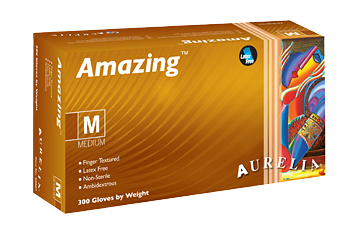 Aurelia Amazing Nitrile Powder Free Examination Gloves, 84 Cases / 1 Pallet