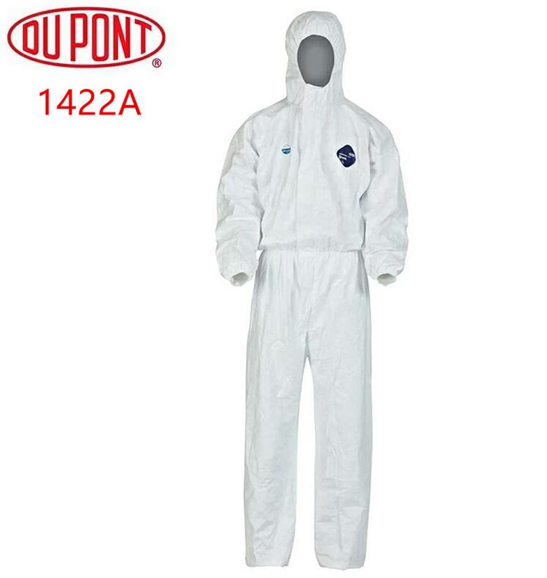 DuPont Tyvek Protective Clothing Coverall 1422A