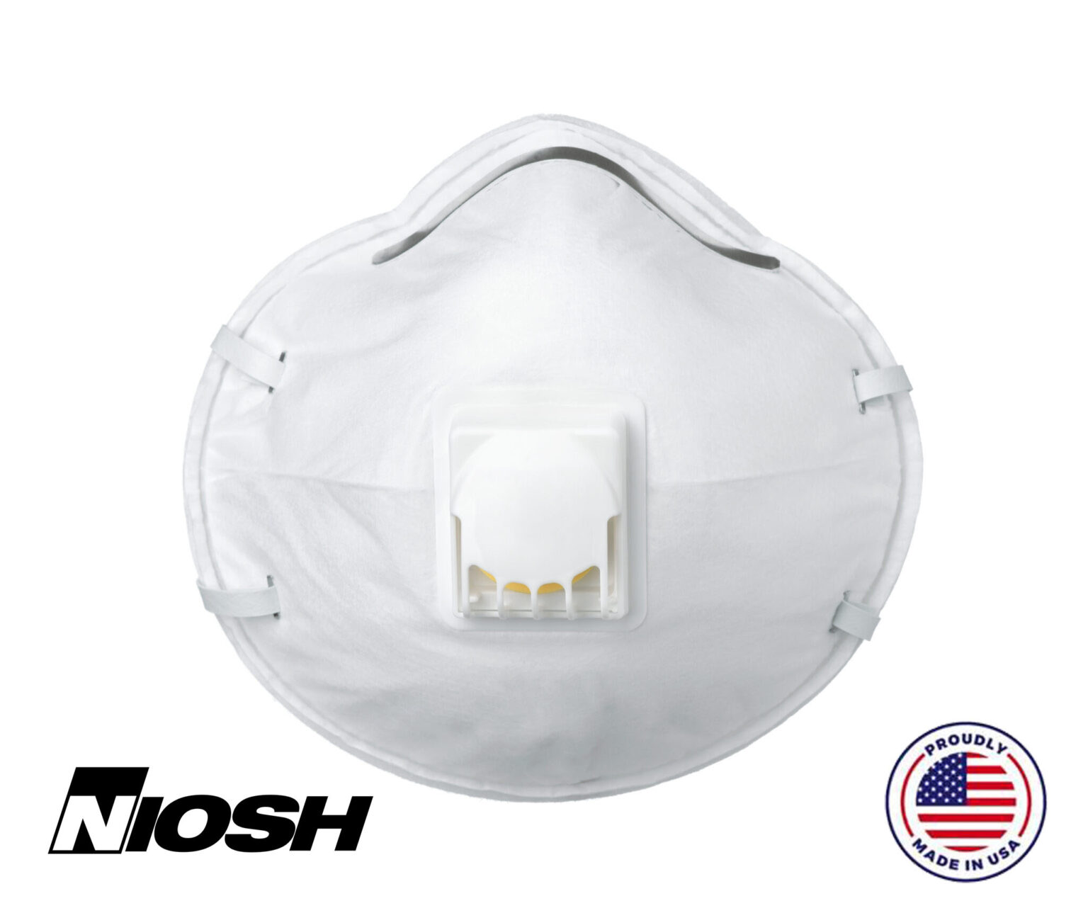 N95 Respirator Mask with Breathing Valve, Small