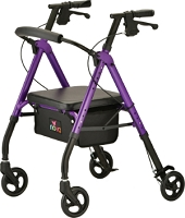 Nova Star 6 Rollator Walker, Purple