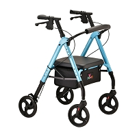 Nova Star 8 Rollator Walker, Sky Blue