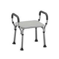 Nova Bath Seat with Arms without Back, #9016