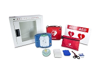 Philips HeartStart Onsite Automated External Defibrillator AED Package