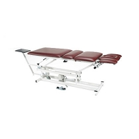 Armedica Am-450 Four Section Hi-Lo Traction Table w/ 3 Piece Head Section