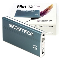 Medistrom Pilot-12 Lite Battery and Backup Power Supply for 12V PAP Devices