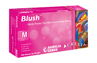 Aurelia Blush Nitrile Powder Free Examination Gloves, 84 Cases / 1 Pallet