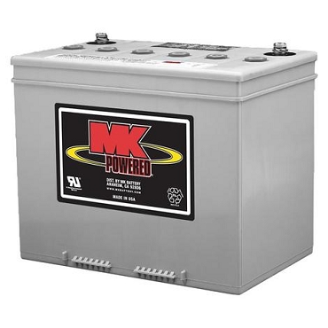 MK Sealed Heavy Duty Gel 12V Battery, M24 SLD G FT