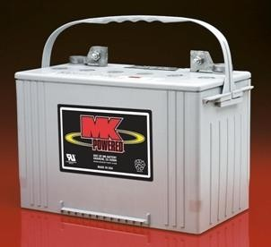 MK Sealed Heavy Duty Gel 12V Battery, M27 SLD G