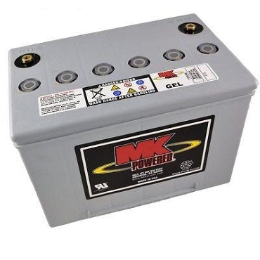 MK Sealed Heavy Duty Gel 12V Battery, M34 SLD G