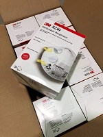 3M 8210 N95 Particulate Respirator Mask