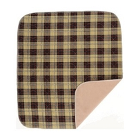 Nova Plaid Design Reusable Ultra Underpad 32