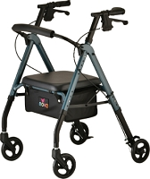 Nova Star 6 Rollator Walker, Blue