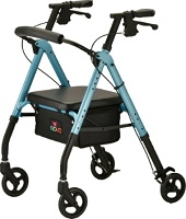 Nova Star 6 Rollator Walker, Sky Blue