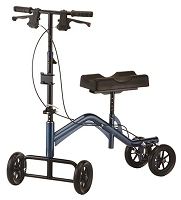 Nova TKW-14 Heavy Duty Turning Knee Walker, Metallic Blue