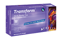 Aurelia Transform Powder Free Examination Gloves, 84 Cases / 1 Pallet