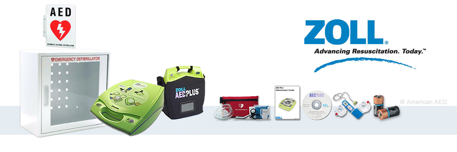 ZOLL AED Plus W/ Real CPR Help Complete AED Package